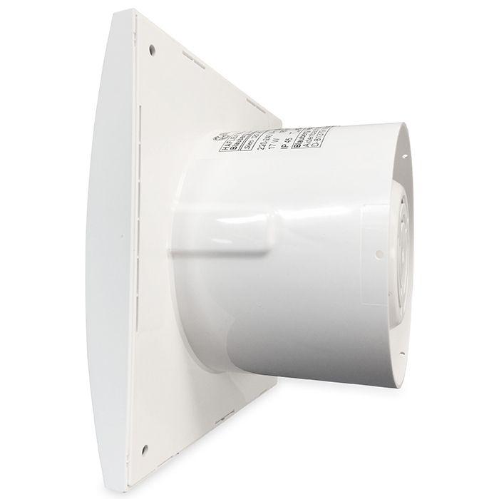 Badkamertoilet ventilator Blauberg Sileo Ø 125mm STANDAARD (SILEO125)