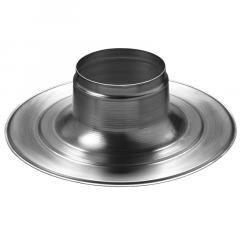 Plakplaat voor Ventub 110 ventilatiepijp - plat dak (0146142)