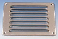 Aluminium schoepenrooster opbouw 215 x 150mm - ALU (1-2115A)