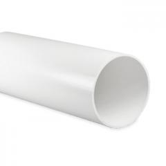 Kunststof ventilatiebuis rond Ø 100mm - Lengte 0,5 meter