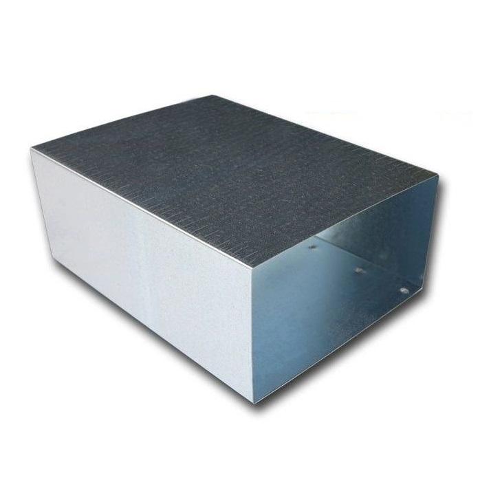 Koppelstuk Voor Kanaal 110 X 55mm - Staal [pro-c]