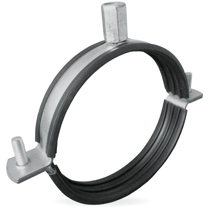 Ophangbeugel Voor Spirobuis Ø 200mm Met Rubber Inl