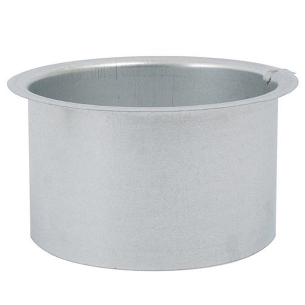 Platte Tuit (flens) Ø 100mm - Hoogte = 80mm