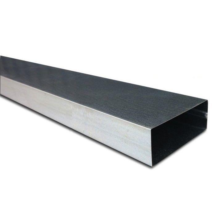 Rechthoekig Kanaal 220 X 55mm - Staal - L=1000mm [