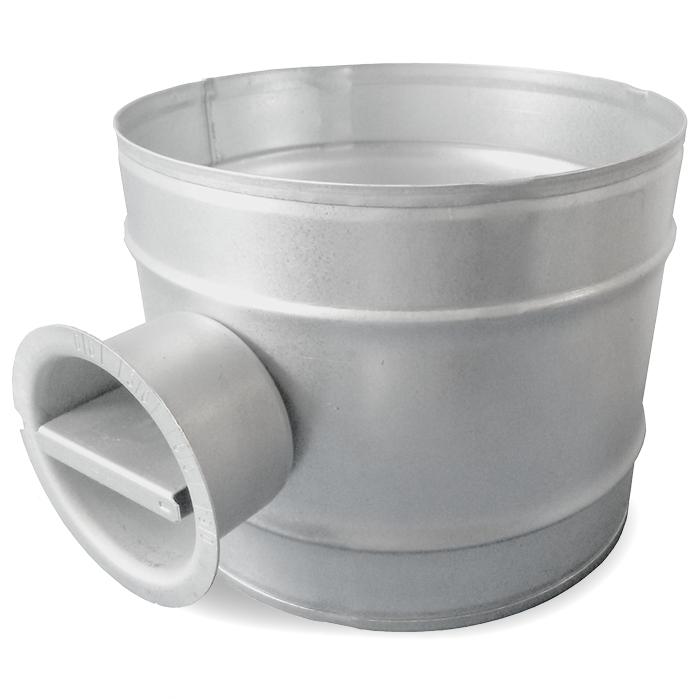 Regelklep Ø 200mm - Handbediend
