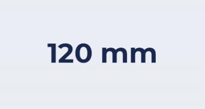 Badkamer ventilator 120 mm