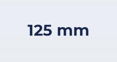 Badkamer ventilator 125 mm