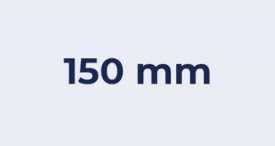 Badkamer ventilator 150mm