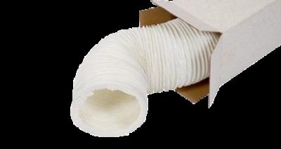Witte PVC slang huishoudelijk