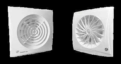 S&P & Blauberg 12 Volt badkamer ventilator