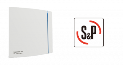 S&P Design badkamer ventilator