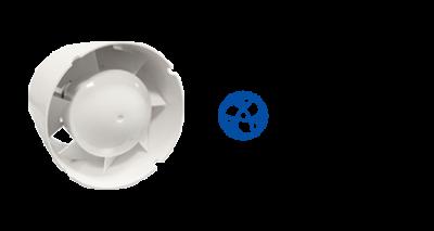 Blauberg Inschuif-buisventilatoren