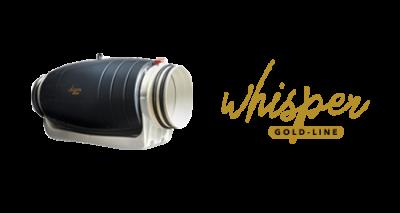 Whisper Gold Line buisventilatoren