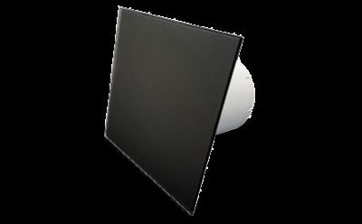 GLAS - mat zwart