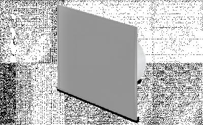 GLAS - mat grijs
