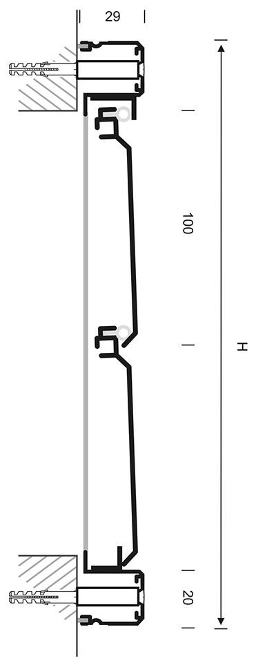 Tekening 12HD Gavo overdrukrooster