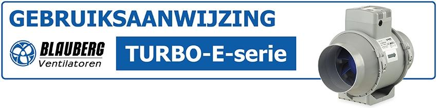 Gebruiksaanwijzing TUBO Blauberg inschuif-buisventilator