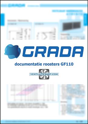 Grada wandroosters GF110 documentatie