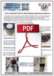 handleiding installatie badkamerventilatoren Soler & Palau SILENT