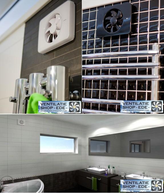Intellivent design badkamerventilatoren voor elke badkamer
