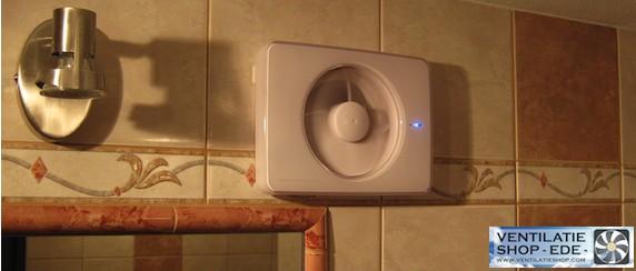 Intellivent, een mooi design badkamerventilator voor elke badkamerventilator