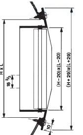 Kanaal roosters voor spirobuis afmetingen