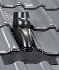 Universele Ubiflex dakdoorvoer pan 5 - 55 graden