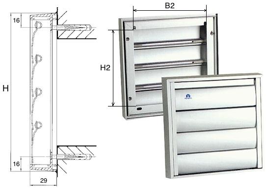 Renson overdrukroosters van de hoogste kwaliteit aluminium