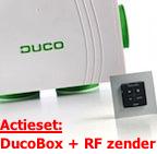 Actieset ducobox met RF batterijgevoed