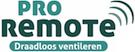 Pro-remote draadloze ventilatie