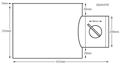 ronde plenumbox voor wervelroosters afmetingen