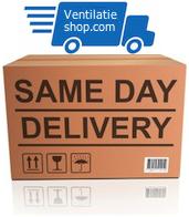 Zelfde dag nog in huis met same day delivery