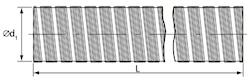 Semi-flexibele slang
