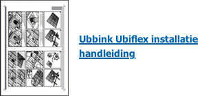 Ubiflex installatie handleiding