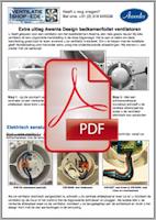 Handleiding installatie Design ventilatoren Awenta
