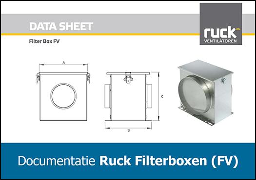 Ruck Filterbox FV160 documentatie - Ventilatieshop