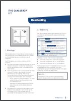 Itho CVE afstandsbediening gebruiksaanwijzing - Ventilatieshop