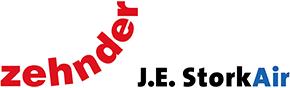 Zehnder J.E. Stork logo
