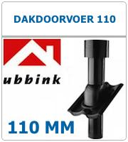 Ubbink dakdoorvoer voor ventilatie 110 aansluiting 100mm