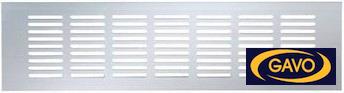Ventilatiestrips aluminium voor ventilatie