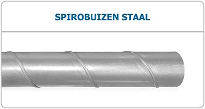 Spirobuizen - Spiralobuizen - ventilatiekanaal