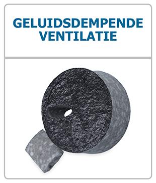Geluidsdempende ventilatie GDR dempers - Ventilatieshop