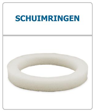 Schuimringen - Afdichtingringen voor luchtventielen (universeel en STK)