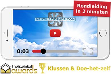 Rondleiding door Ventilatieshop - Winnaar Thuiswinkel Awards