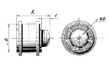TUBO-100 Blauberg inschuif buis ventilator